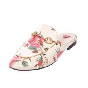 GUCCI Princetown floral mule slipper 35.5